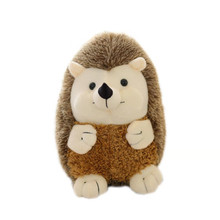 17/22/30/38cm simulation animal plush toy custom hedgehog doll catching machine cross-border creative gift wholesale