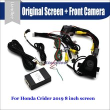 Car Front View camera System For Honda Crider 2019 CANBUS Connect Original Factory Screen Monitor AUTO Rear CAM Decoder
