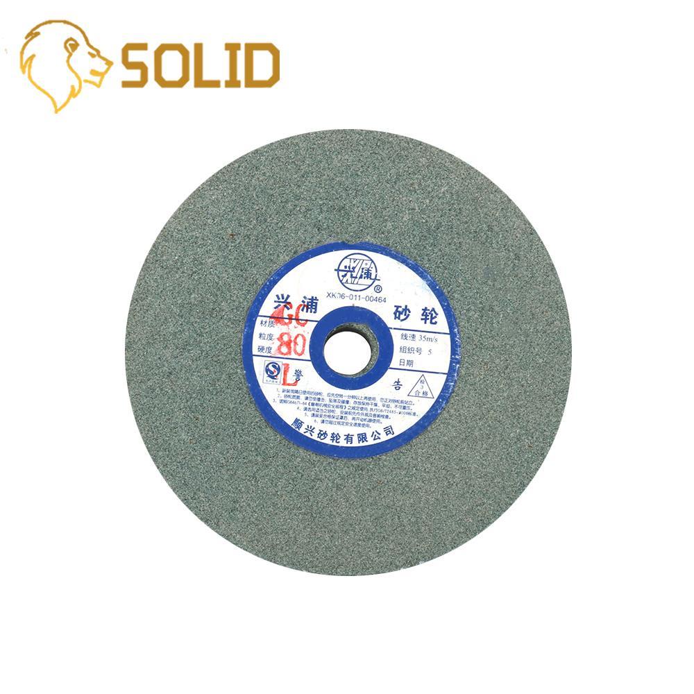 Ceramic Grinding Wheel 150x12.7x16mm Resistant Disc Abrasive Disc Polishing Metal Stone Wheel For Bench Grinders 80#