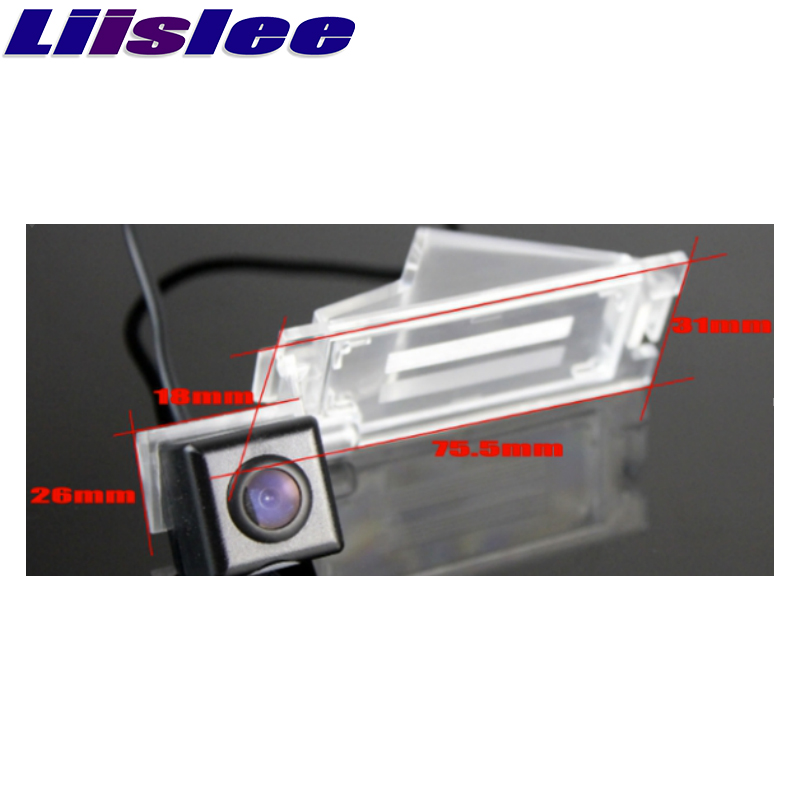 Liislee For Dodge Caliber 2007~2012 High Quality Rear View Back Up Camera Car Camera For PAL : NTSC to Use : CCD + RCA1