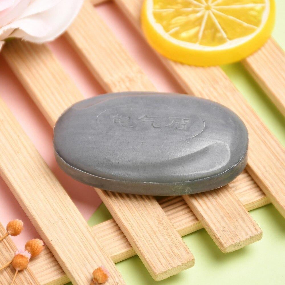 50 г турмалин бамбук мыло турмалин черный мыло натуральный прыщи мыло традиционный уголь активный энергия травы мыло от прыщей