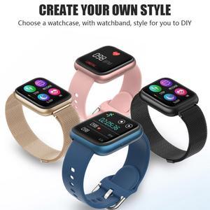 Image 5 - Cobrafly P6 Smart Watch Women Men pk P68 P70 1.4 Inch Full Touch Screen IP67 Waterproof Heart Rate Monitor Fitness Tracker Watch