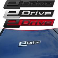Side Rear Waistline Logo Badge Decor Sticker For BMW 3 5 7 series X1 iX3 X2 X3 X5 X7 i3 F49 G01 F25 G05 G07 G11 EDrive E Drive