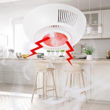 Высокочувствительный детектор дыма для домашней безопасности, независимая Беспроводная сигнализация, датчик дыма, пожарное оборудование