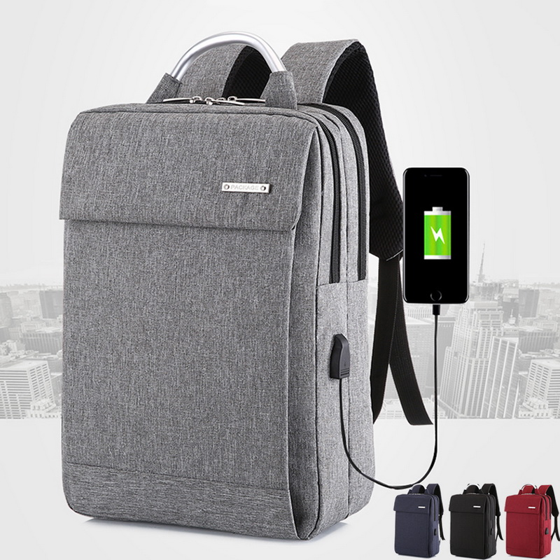 WENYUJH Anti Theft Usb Backpack 2019  Business Large Capacity Backpack Men Women School Bag Travel Bagpack Student Bag