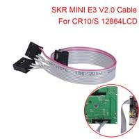 SKR-Cable de interfaz para impresora 3D MINI E3 V2.0, controlador de pantalla LCD Original 12864, 10 pines, 30CM, LCD12864