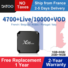 X96MINI IPTV France Arabic Itlay Spain Portugal Android 7.1 1G+8G/2G+16G French Italy Box