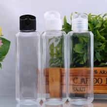 Refillable Bottle Empty-Container Liquid Small Transparent 100ml Simple 1PC Makeup Flip-Top-Cap