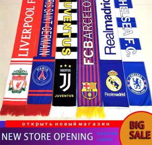 Tassel Scarf Champions Lady Shawl Football-Team Knitted League Winter Unisex Men