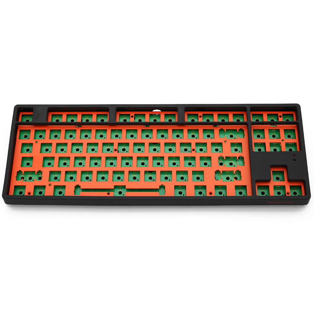 DM87 87 Key Custom Mechanical Keyboard Kit 80% 87 PCB CASE Stabilizer Support Lighting Effects Full Anti Ghosting