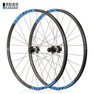 Image 4 - KOOZER XR1700 MTB Mountain Bike 26 27.5inch Wheelset 6 Claw Sealed Bearing QR Thru axis Bicycle Disc Braake Wheels DT Spoke 24H