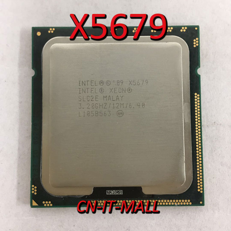 Intel Xeon X5679 CPU 3.2GHz 12M 6 Core 12 Threads LGA1366 Processor