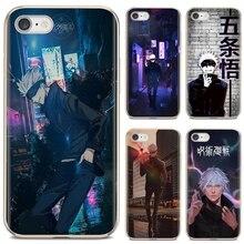 Comics Siliconen Telefoon Case Jujutsu Kaisen Satoru Gojo Voor Huawei P30 P40 P20 P7 P8 P9 P10 Lite Plus Pro 2015 2016 2017 Mini