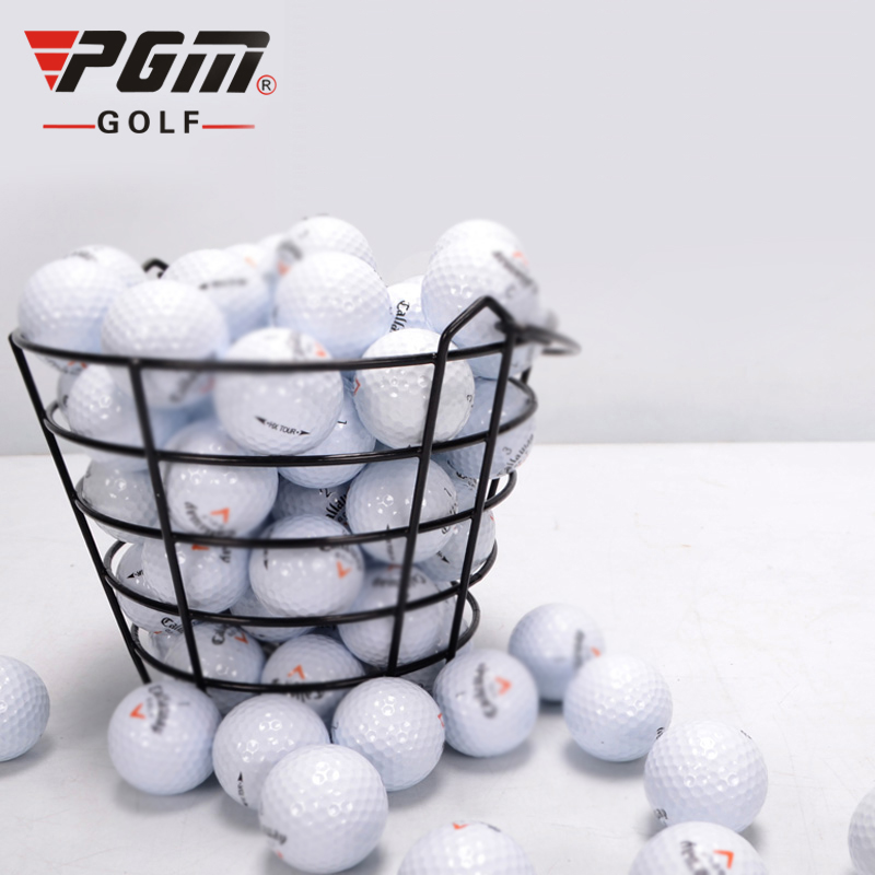 Golf Basket Multi-purpose Basket Frame PVC Material Can Hold 100 Balls Practical Portable Ball Frame Anti-corrosion Rust-proof