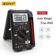 デジタルマルチメータ zoyi VC921 3 3/4 個人的なミニデジタルマルチポケット容量抵抗周波数テスター