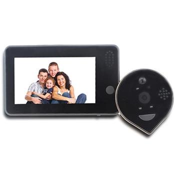 Topvico Doorbell Video Peephole Wifi Doorbell Camera 4.3 7