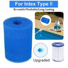 Espuma de filtro de piscina reutilizável lavável para h/a/s1/i/ii/vi/d/vii/b tipo cartucho de esponja de filtro de piscina adequado bolha jetted