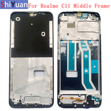 Housing Middle Frame LCD Bezel Plate Panel Chassis For Realme C11 2021 Phone Metal Middle Frame