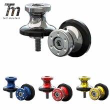 6/8mm Swingarm Slider Spools For Yamaha MT-03 MT03 MT09 MT-09 MT 03 09 FZ09 FZ-09 MT07 MT07 YZ1 YZF R1 R3 R6 R6S R25 2017 2018