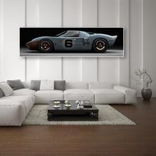 Imágenes impresas en HD Vintage/Retro cartel de coches deportivos de barra caliente clásico coche nostálgico lienzo pinturas arte de pared para la decoración del hogar del dormitorio