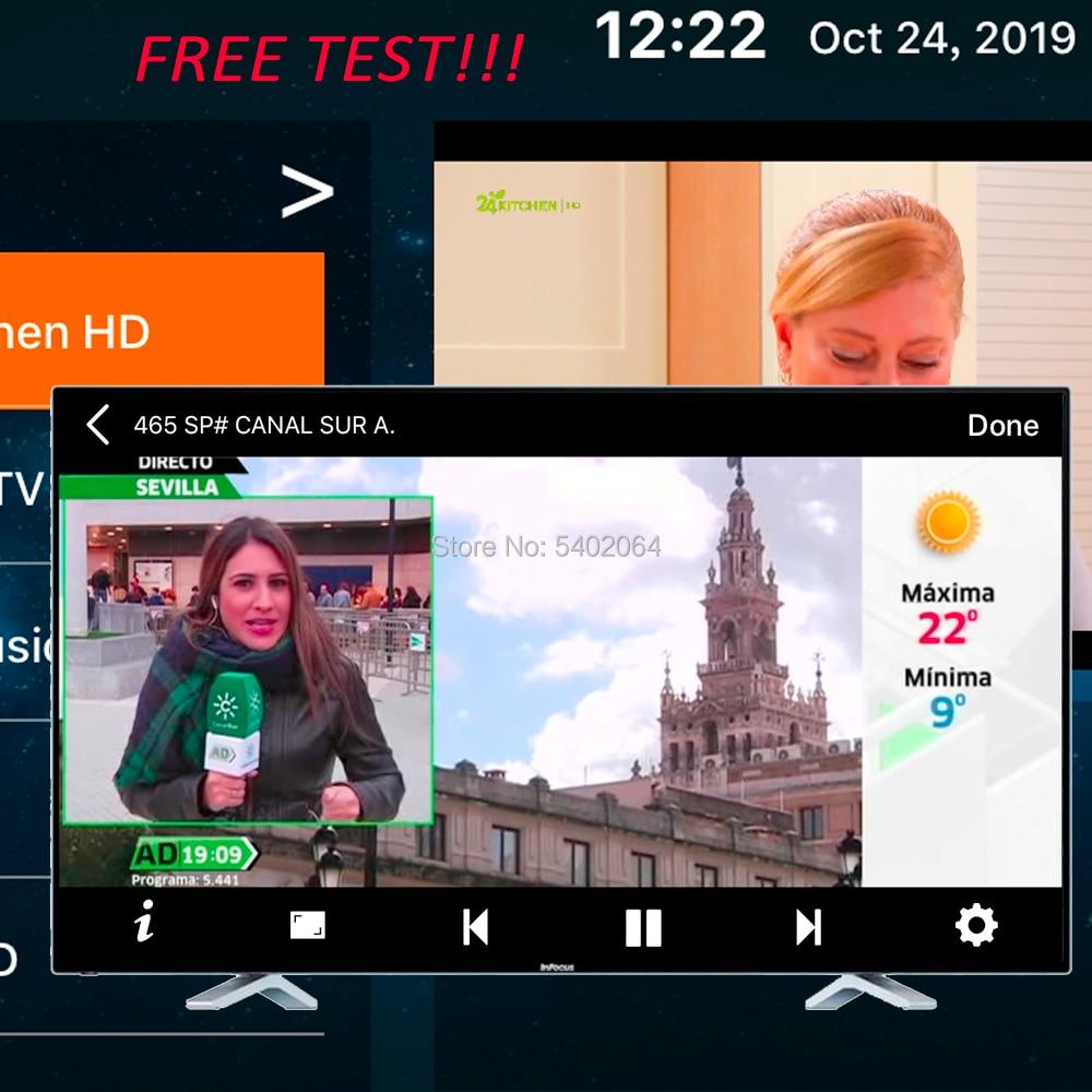 IPTV Subscription Stream Live Tv Code Iptv Iptv Smart Pro Stalker M3u Free Vod Filme  Series