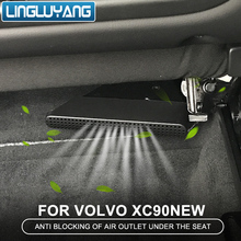 For volvo xc90 2015 2016 2017 2018 2019 seat lower air outlet cover lower vent dust cover Car accessories