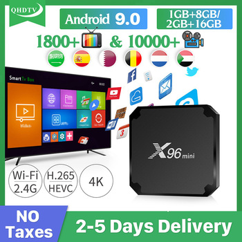 цена на IPTV Arabic German Spain Italy QHDTV X96 MINI box Android IPTV Belgium Netherlands Arabic Italy IP TV no app included X96mini