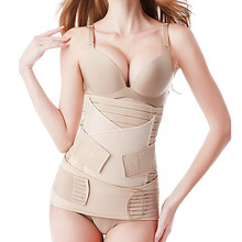 3-In-1 Slimming Postpartum Body-Support-Band Corsets Waist-Cinchers Recovery Training