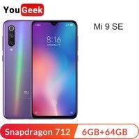 Xiaomi Mi 9 SE 6GB 64GB Smartphone Mi9 SE Snapdragon 712 Octa Core 5.97 48MP Triple Camera Quick Charge 3.0 Mobile Phone