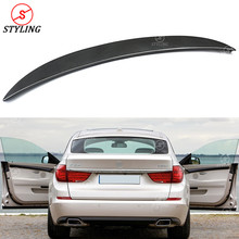 5 series GT Carbon Spoiler AC Style For BMW F07 Gran Turismo 2010 2011 2012 2013 Fiber Rear Bumper trunk spoiler wing