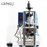 Upper and lower Hot Press Opening Machine Sealing Machine Pneumatic leather Wrinkle Bag ironing Machine Sealing Machine