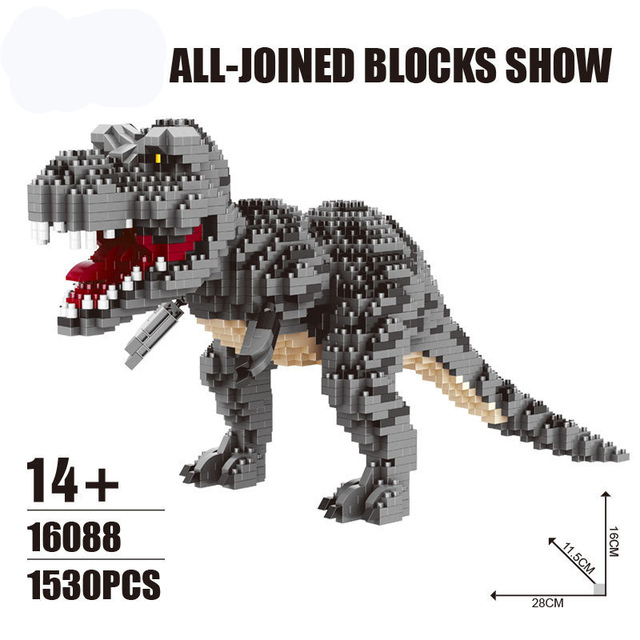 Jurassic World 2 Building Blocks Dinosaurs Figures Bricks Tyrannosaurus Rex