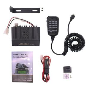 Image 5 - LEIXEN VV 998S VV 998 Mini Walkie Talkie 25W Dual band VHF UHF 144/430MHz Mobile Transceive Amateur Ham Radio Car Radio