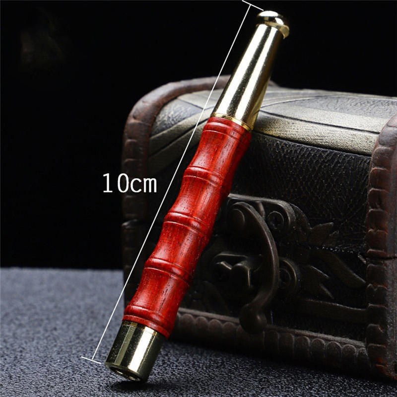 Mahogany Bamboo Sandalwood Filter Cigarette Holder Thick and Thin Universal Can Clean Core Circulation Type