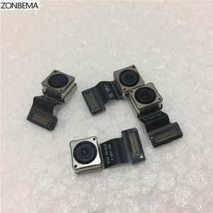 Image 5 - Модуль камеры заднего вида ZONBEMA с датчиком вспышки, основная камера с гибким кабелем для iPhone X, XR, XS, 5 5S, 5C, SE, 6, 6S, 7, 8 Plus, XS MAX, оригинал