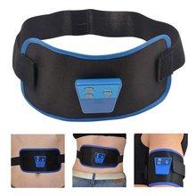 Electronic Massage Belt Slimming Body Muscle Relax Vibrator Massager Gymnic Back