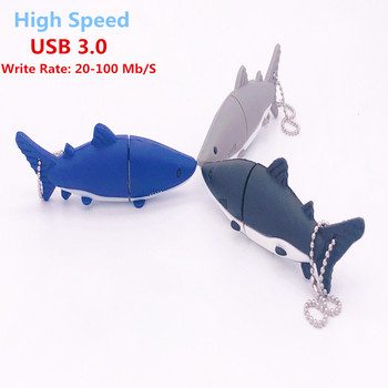 цена на Shark/Dolphin Pen Drive Usb 3.0 Usb Flash Drive 8GB Flash Memory Card 16GB Pendrives  32GB 64GB 128GB Memoria Usb Flash Stick