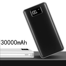 Power Bank 30000mAh For Xiaomi Mi 2 USB PowerBank Portable Charger External Battery Poverbank For iPhone 7 8 X XS Samsung Huawei