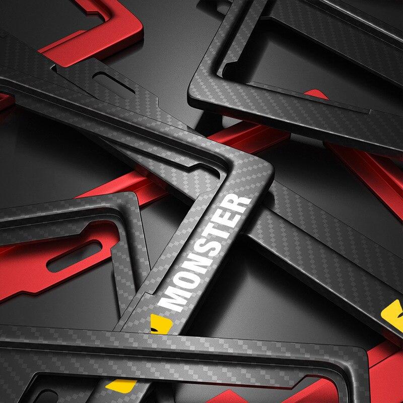 Porte plaque d'immatriculation logo personnalisable porte-numéro plaque plaque d'immatriculation plaques absmercé Licens plaque cadre autre marque