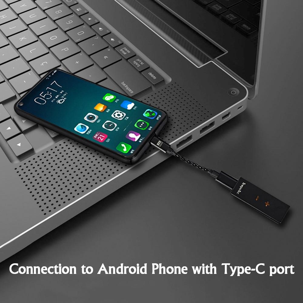 TempoTec (sonate hd pro pour Android/PC) amplificateur casque HiFi décodage USB type C à 3.5mm adaptateur DAC sortie Audio Portable - 4
