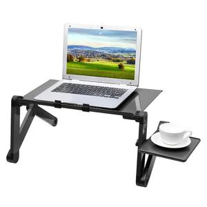 Image 5 - ポータブル携帯ラップトップスタンドベッドソファラップトップ折りたたみテーブルノートブックデスクマウスパッドホームオフィスコンピュータデスク