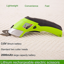 Multifunctional Cordless Electric Scissors For Cloth Fabric Leather Craft Cutting Chargeable Home Use Sewing Handheld Scissors цены