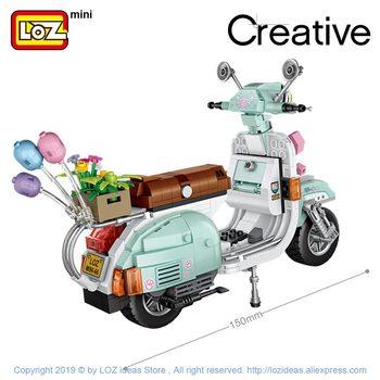 LOZ Mini Building Blocks Motorcycle Sheep  2