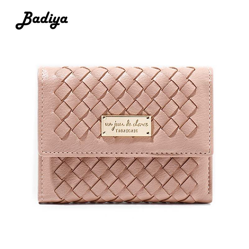 Women Wallet New Fashion 2020 Long Women's Wallets Long Knitting Clutch Bag Card Holder Luxury Female Coin Purse For Ladies
