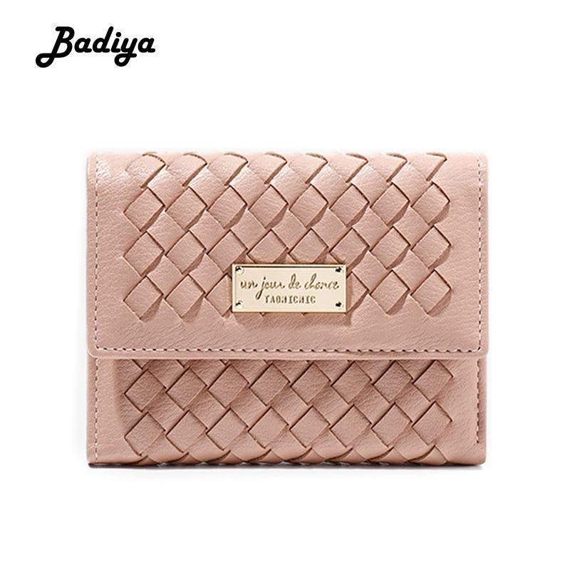 Women Wallet New Fashion 2020 Long Women's Wallets Long Knitting Clutch Bag Card Holder Luxury Female Coin Purse For Ladies