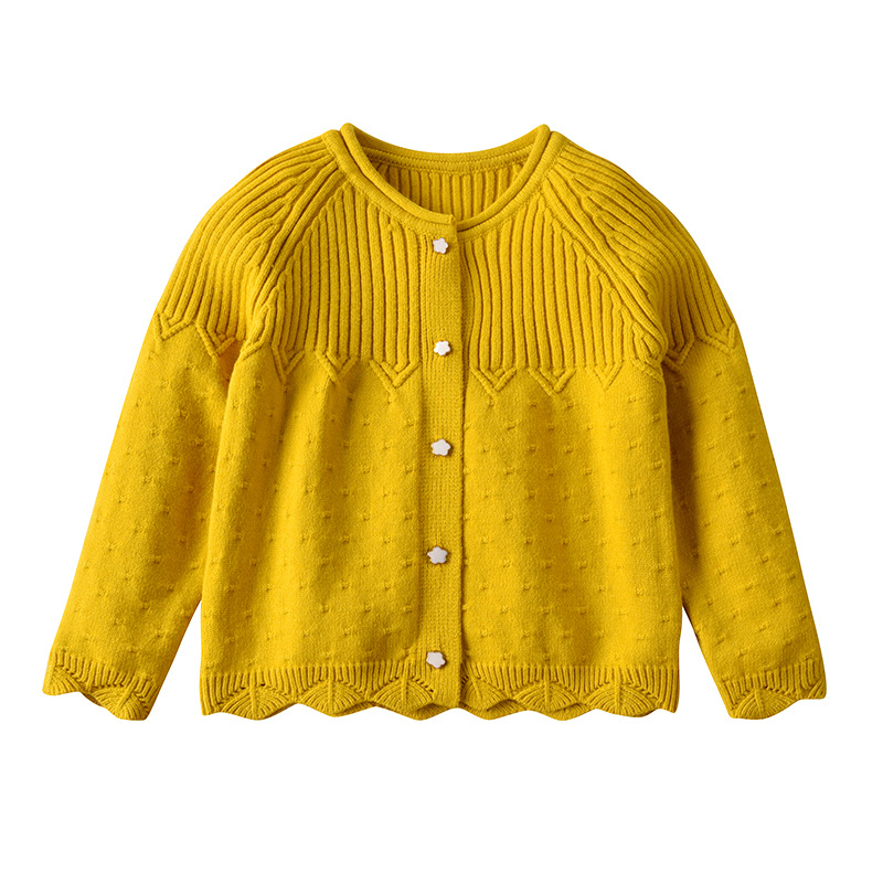 Europe And America CHILDREN'S Cardigan 2019 Autumn And Winter New Style Children Sweater Cardigan Coat