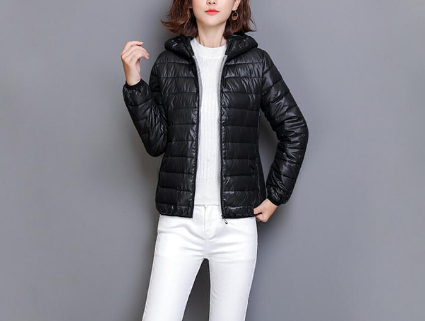 Hot 2020 New Women's Cotton Warm Jacket Student Thin Section Down Cotton Hooded Short Coat Women Coat