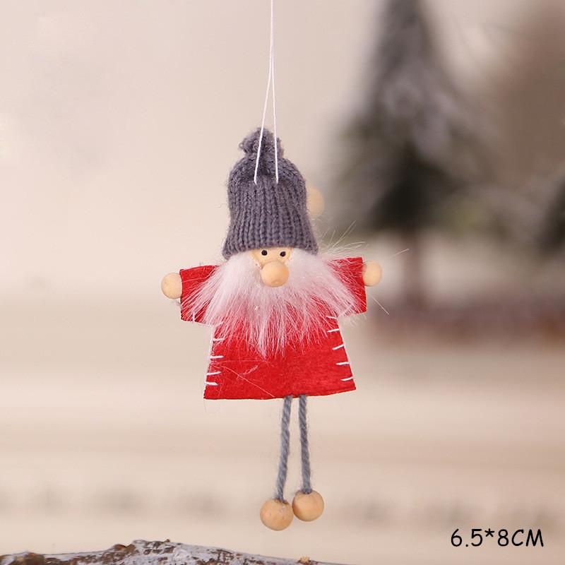 2020 New Year Gift Cute Christmas Angel Doll Xmas Tree Ornament Noel Deco Christmas Decoration for Home Natal Navidad 2019 Decor 54