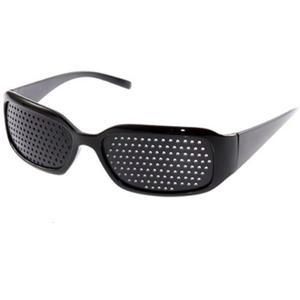 Black Unisex Vision Care Pin h