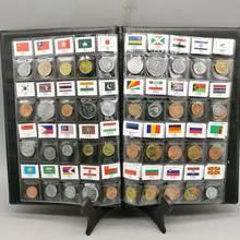 Lote de monedas originales de 60 países diferentes, colección de monedas auténticas de UNC, Mundial de África, Asia y América del Euro